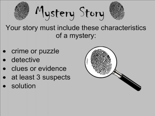 how to start a mystery story examples